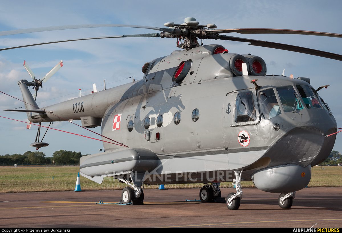 Poland - Navy 1008 aircraft at Fairford