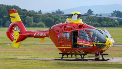 G-OMAA - Midlands Air Ambulance Eurocopter EC135 (all models)