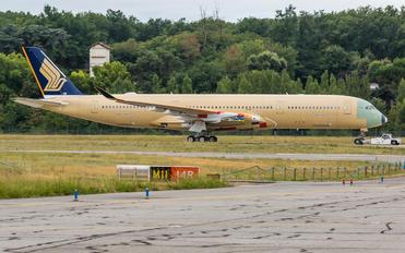 F-WZFU - Singapore Airlines Airbus A350-900