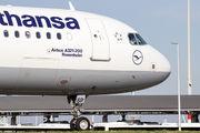 D-AISP - Lufthansa Airbus A321 aircraft