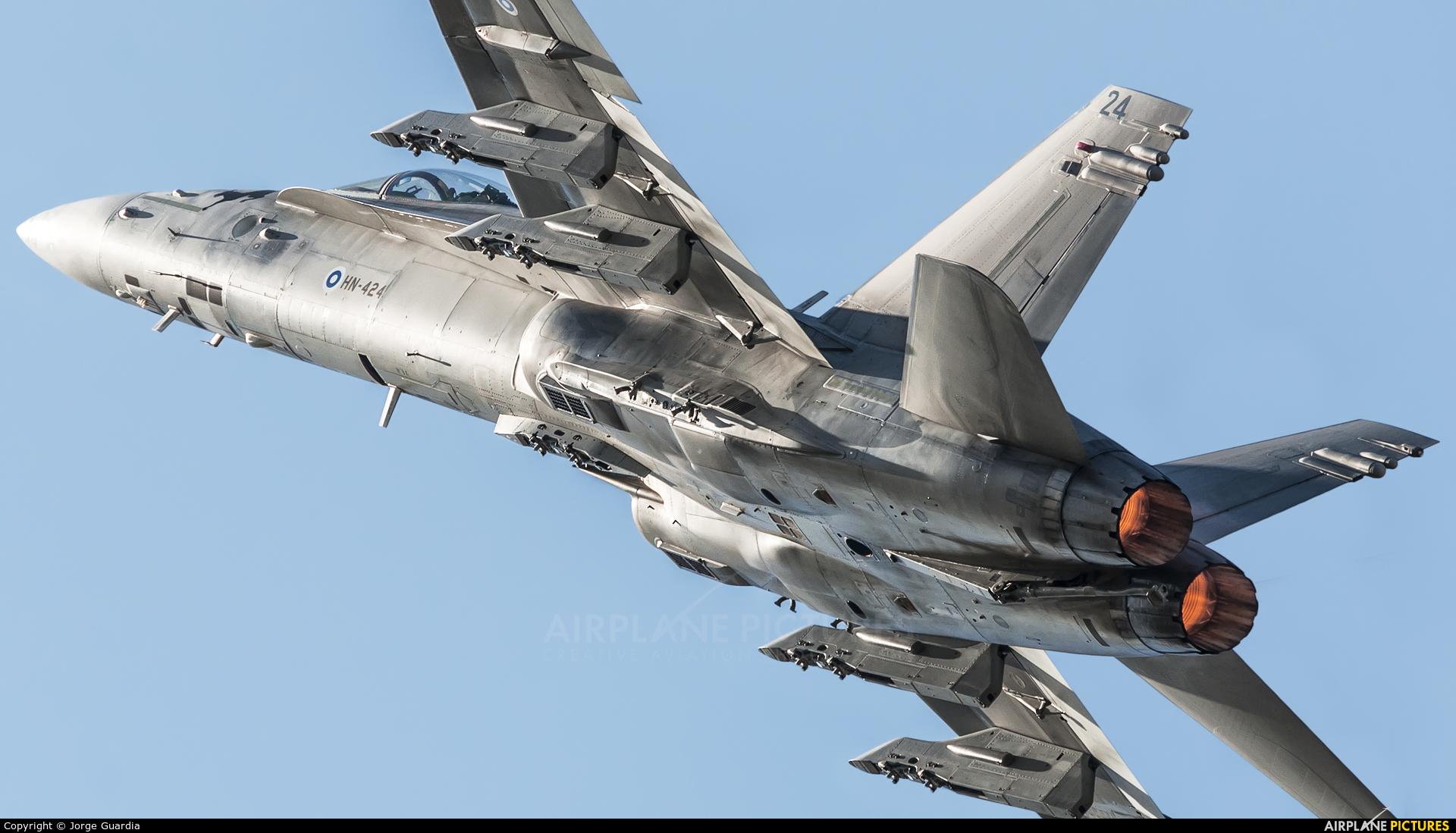 Finland - Air Force HN-424 aircraft at Fairford