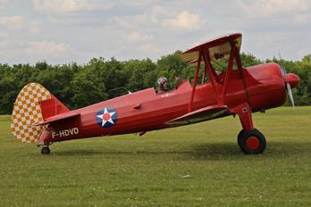 F-HDVD - Private Boeing Stearman, Kaydet (all models)