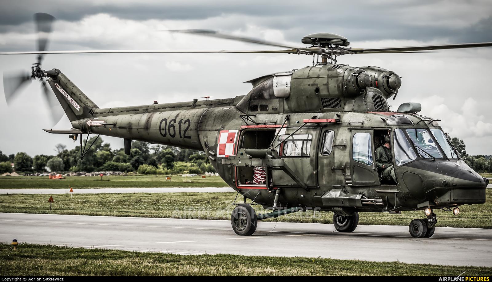 Poland - Army 0612 aircraft at Dęblin