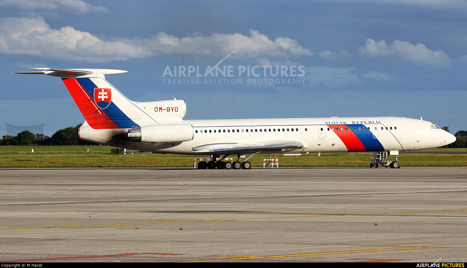 Slovakia - Government OM-BYO aircraft at Dublin
