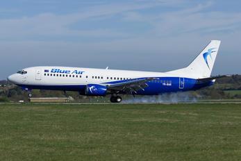 YR-BAR - Blue Air Boeing 737-400