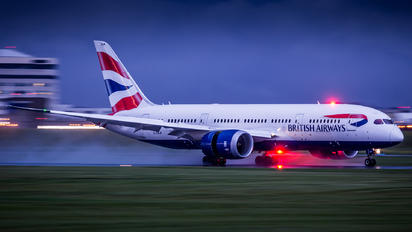 G-ZBJF - British Airways Boeing 787-8 Dreamliner