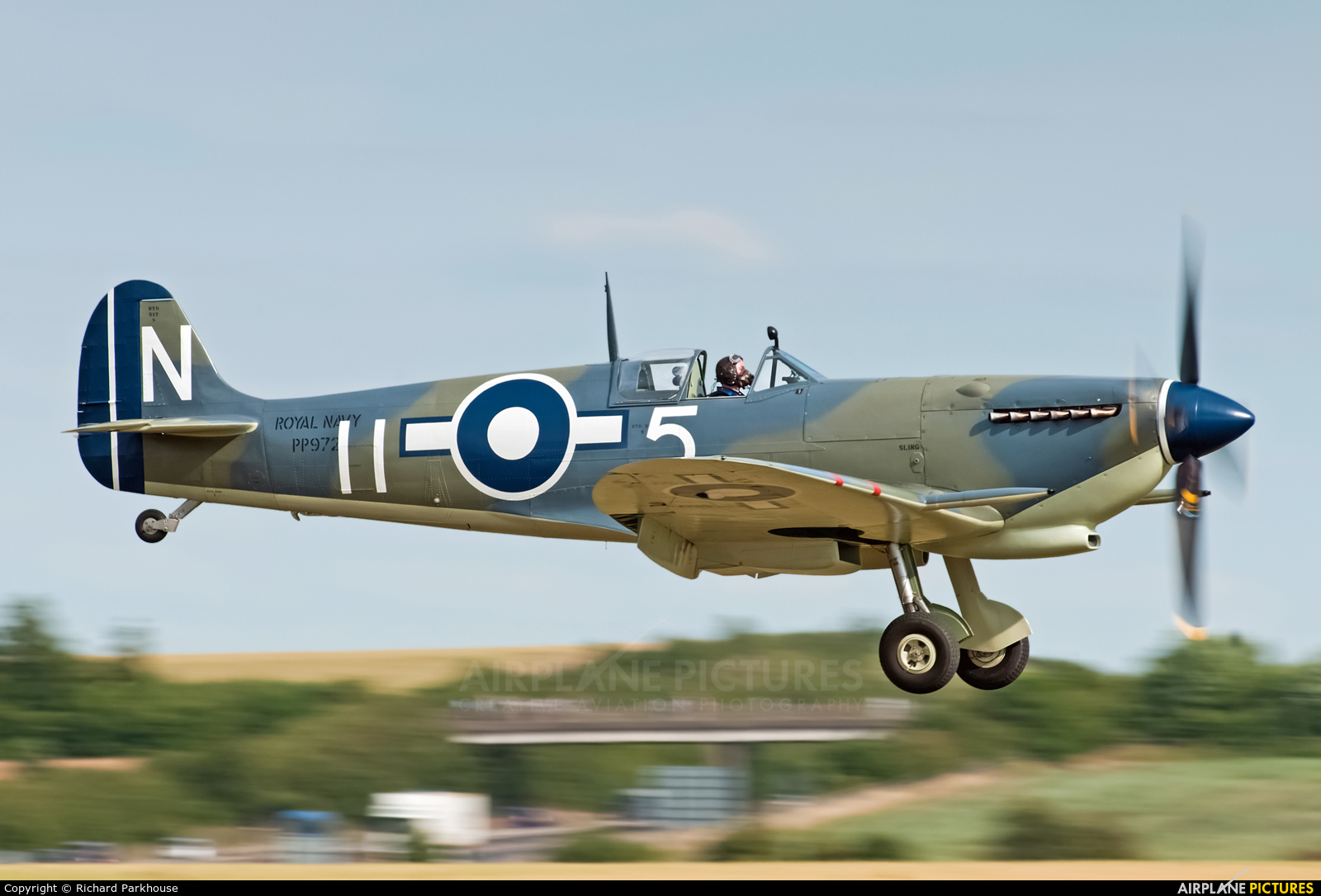 Private PP972 aircraft at Duxford