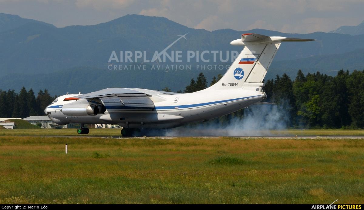 Russia - Air Force RA-78844 aircraft at Ljubljana - Brnik