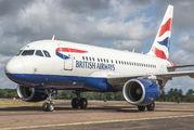 G-EUNB - British Airways Airbus A318 aircraft
