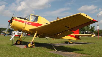D-ESOT - Interflug LET Z-37 Čmelák