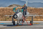 167 - Croatia - Air Force Mikoyan-Gurevich MiG-21UMD aircraft