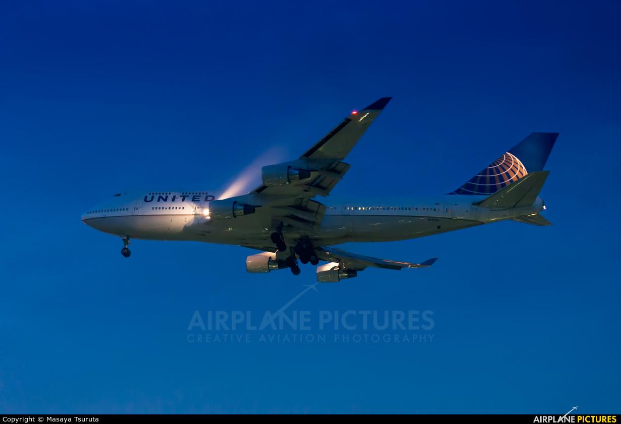 United Airlines N197UA aircraft at Tokyo - Narita Intl