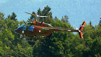 S5-HZJ - Slovenia - Air Force Bell 206B Jetranger III