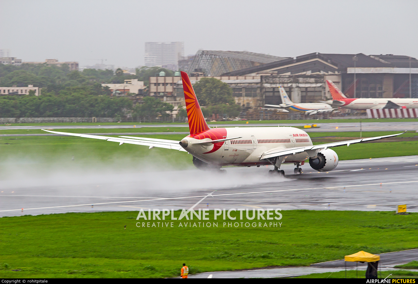 Air India VT-ANB aircraft at Mumbai - Chhatrapati Shivaji Intl