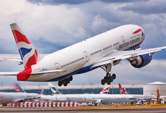 G-ZZZB - British Airways Boeing 777-200