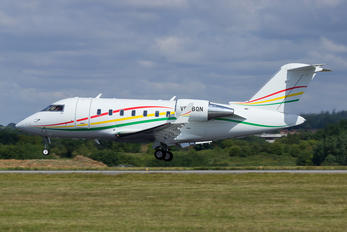 VP-BQN - Private Canadair CL-600 Challenger 605