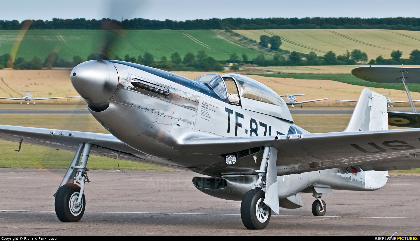 Private D-FTSI aircraft at Duxford