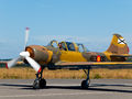 Private Yakovlev Yak-52 EC-HYX at Lugo - Rozas airport