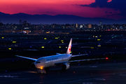 - - JAL - Japan Airlines Boeing 777-200 aircraft