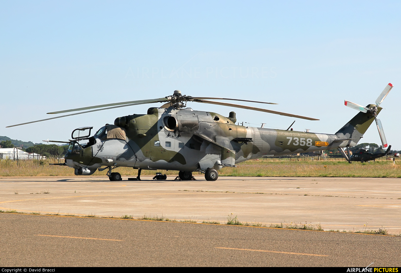 Czech - Air Force 7358 aircraft at Off Airport - Italy