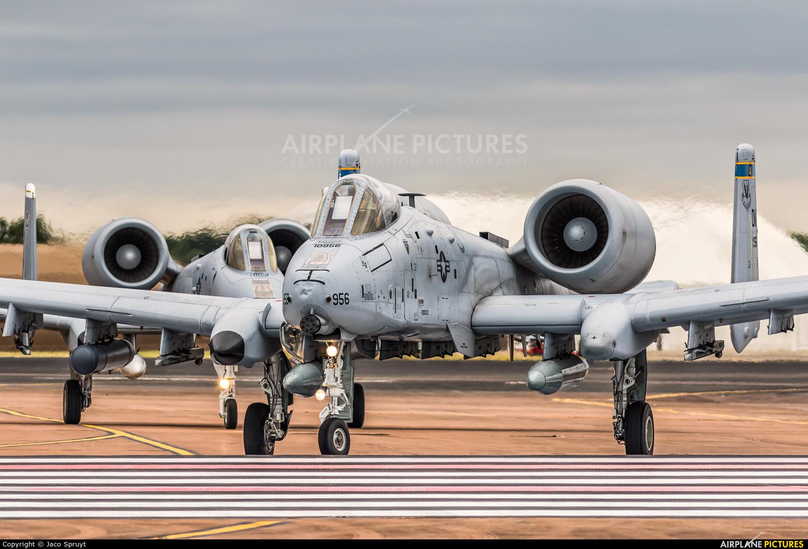 USA - Air Force 81-0956 aircraft at Fairford