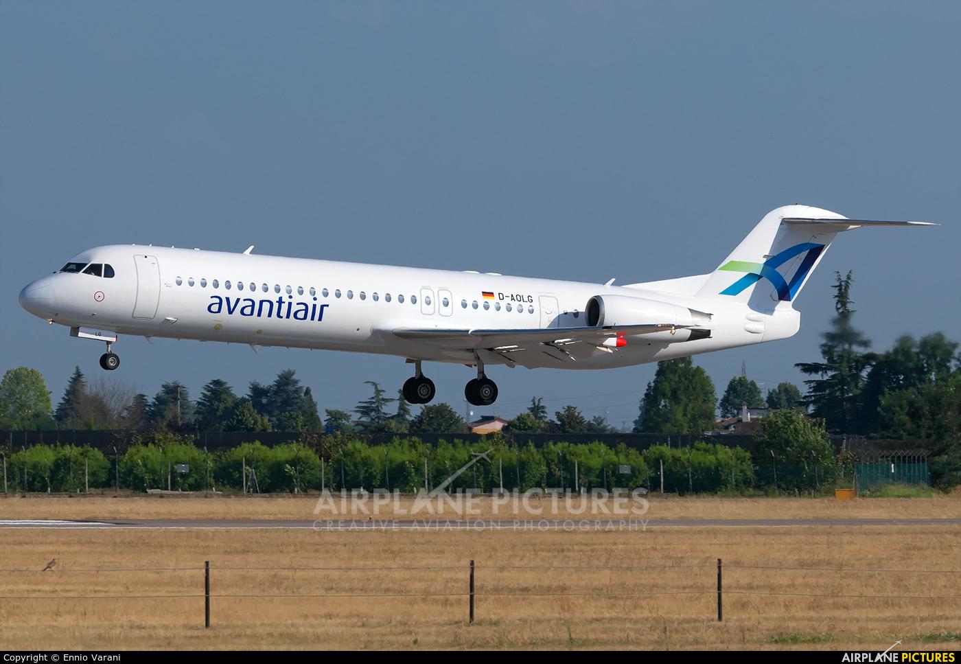AvantiAir D-AOLG aircraft at Verona - Villafranca