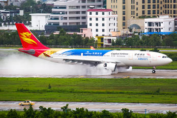 B-8019 - Capital Airlines Beijing Airbus A330-200