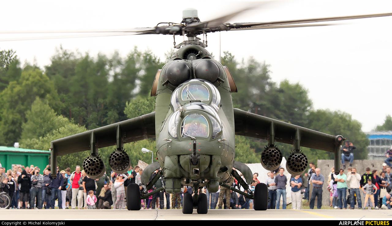 Poland - Army 461 aircraft at Świdwin