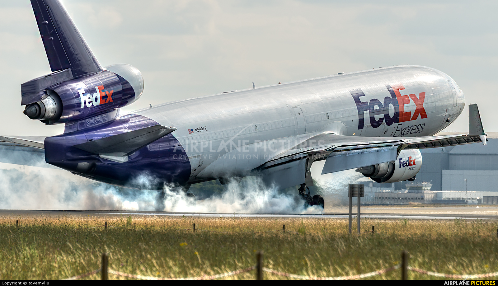 FedEx Federal Express N599FE aircraft at Paris - Charles de Gaulle