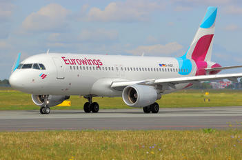 D-AIZT - Eurowings Airbus A320