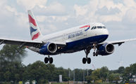 G-EUUD - British Airways Airbus A320 aircraft