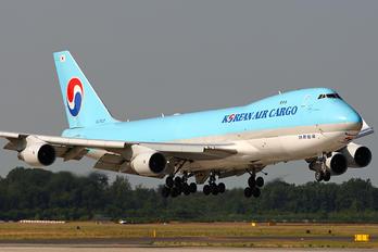 HL7437 - Korean Air Cargo Boeing 747-400F, ERF