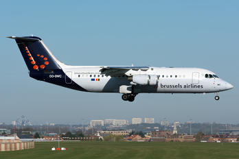 OO-DWC - Brussels Airlines British Aerospace BAe 146-300/Avro RJ100