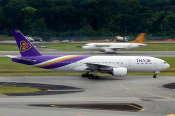 HS-TJR - Thai Airways Boeing 777-200ER