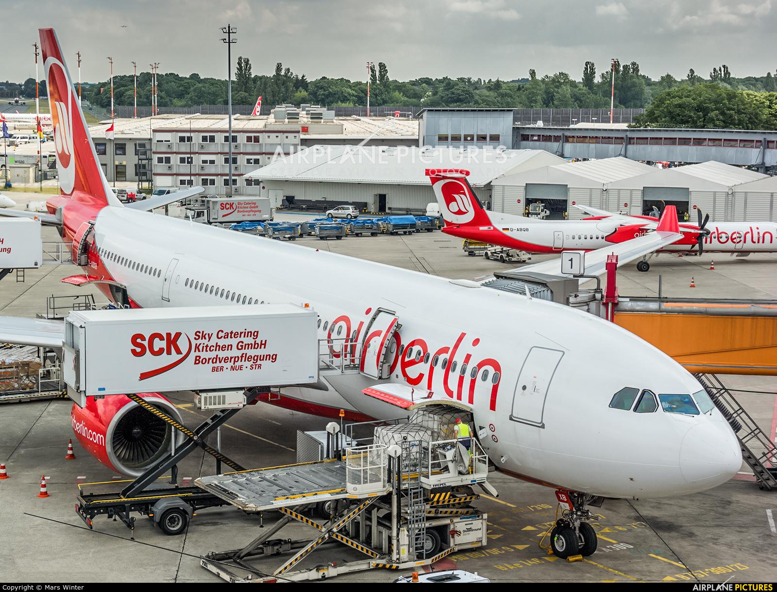 D-ABXB - Air Berlin Airbus A330-200 at Berlin