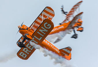 N5057V - Breitling Wingwalkers Boeing Stearman, Kaydet (all models)