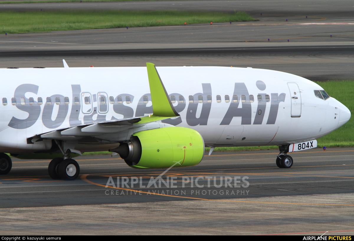 Solaseed Air - Skynet Asia Airways JA804X aircraft at Fukuoka