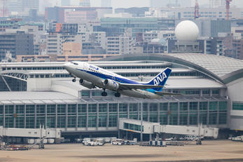 JA8404 - ANA - All Nippon Airways Boeing 737-500