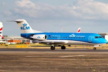 PH-KZS - KLM Cityhopper Fokker 70