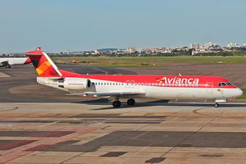 PR-OAE - Avianca Brasil Fokker 100