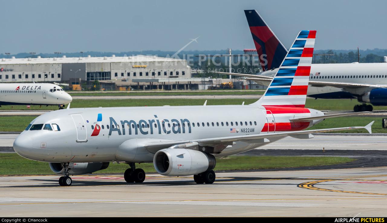 American Airlines N822AW aircraft at Atlanta - Hartsfield-Jackson Intl