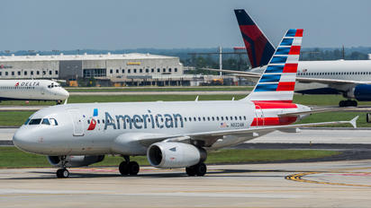 N822AW - American Airlines Airbus A319