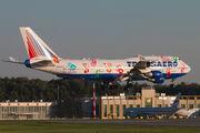EI-XLO - Transaero Airlines Boeing 747-400 aircraft