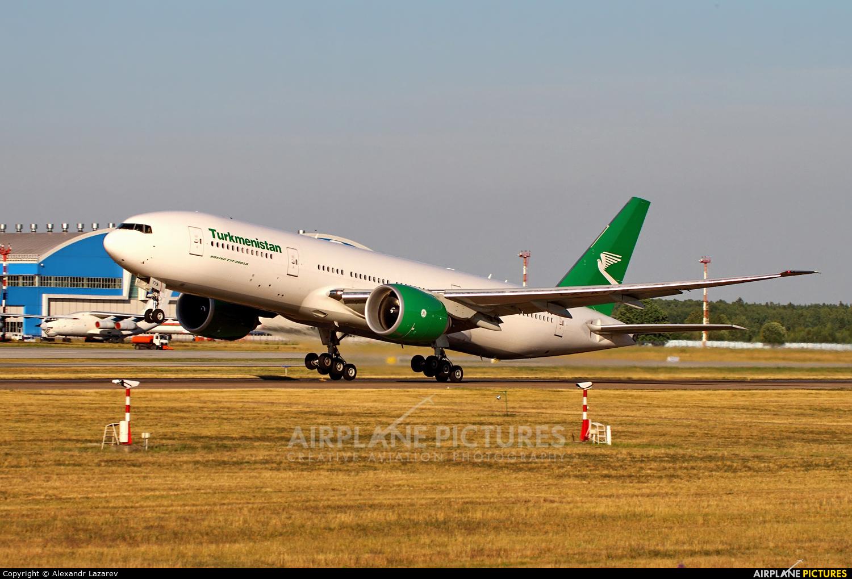 Turkmenistan Airlines EZ-A779 aircraft at Minsk Intl