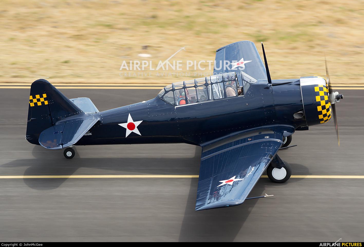 Historic Flight Foundation N512SE aircraft at Olympia Regional