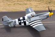 NX5087F - Historic Flight Foundation North American P-51B Mustang aircraft