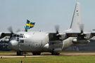 Swedish Air Force celebrates 50 years of Hercules service
