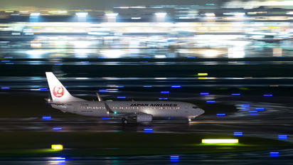 JA306J - JAL - Japan Airlines Boeing 737-800
