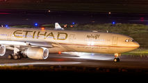 A6-EHD - Etihad Airways Airbus A340-500 aircraft
