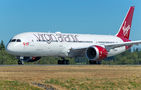 Virgin Atlantic latest Boeing 787-9 Dreamliner on its delivery flight
